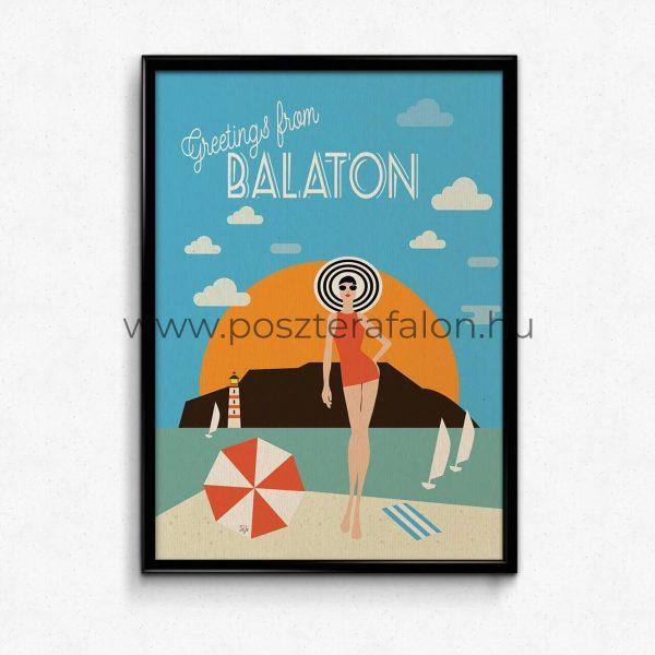 Balatoni retró-utazás, poszter